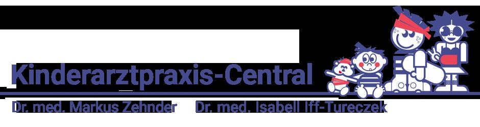 Logo Kinderarztpraxis Central
